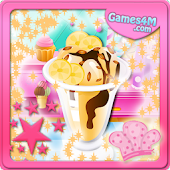 Banana Ice Cream Cooking Games