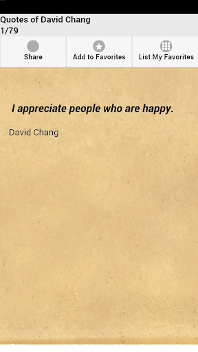 Quotes of David Chang