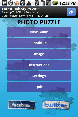 Photo Puzzle SRA- screenshot