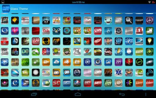 Glass - Icon Pack  screenshots 11