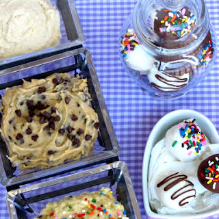 Safe-to-Eat Chocolate Chip Cookie Dough