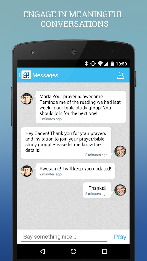 Instapray - your prayer app- screenshot