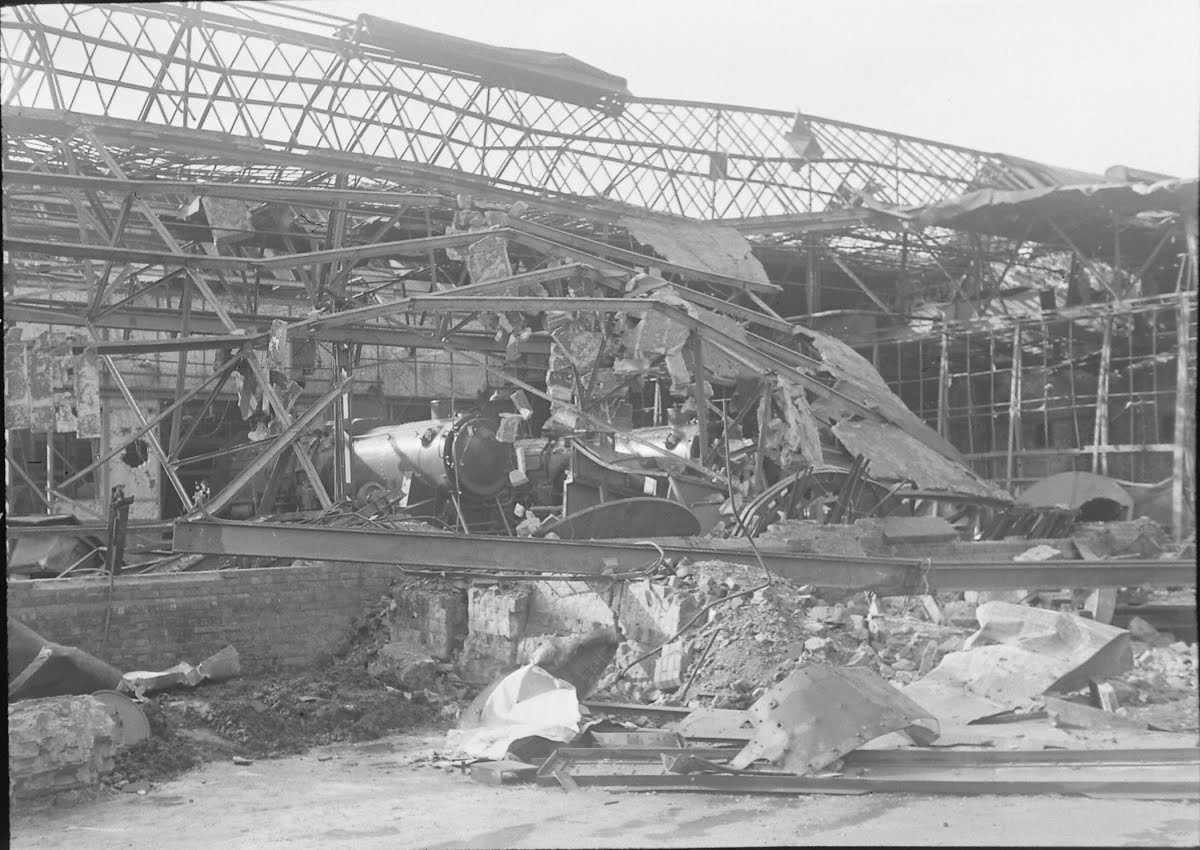 Bomb Damage Germany