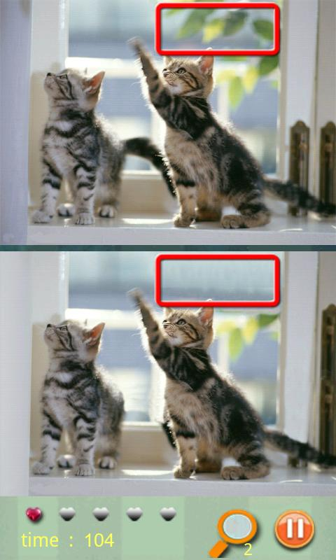 Find Differences - Cat - screenshot