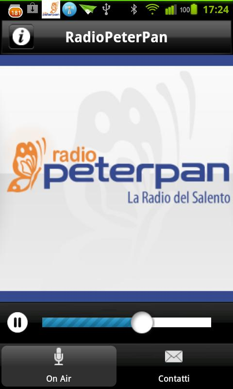 Radio Peter Pan- screenshot
