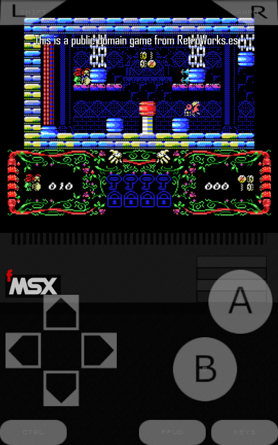 fMSX - Free MSX Emulator- screenshot