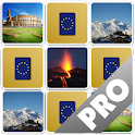 Europe Memory Game PRO icon