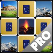 Europe Memory Game PRO
