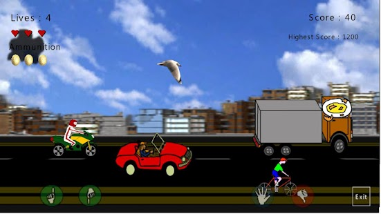 DirtyBirdy - 2D Bird Game- screenshot thumbnail