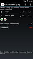 Screenshot of BAC Calculator (free)