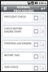 Aviation Checklist - screenshot thumbnail