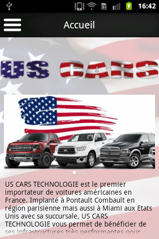 US Cars Technologie