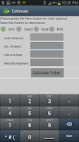 Screenshot of Mortgage Auto Loan Calculator