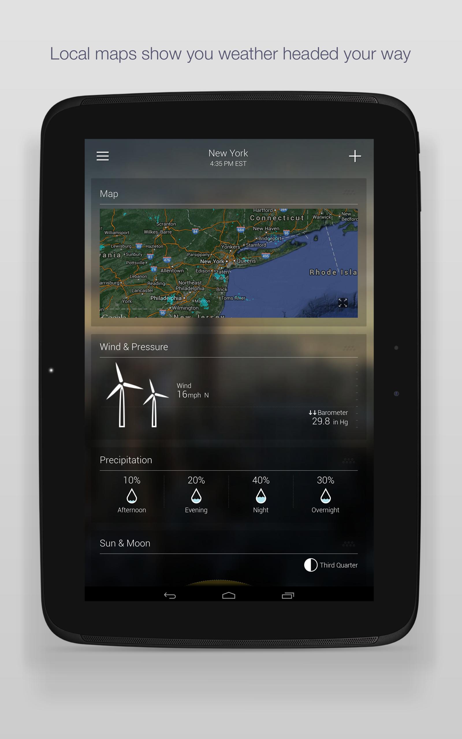 Yahoo Weather screenshot #9