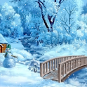 Winter Snowman Live Wallpaper icon