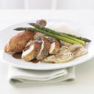 Roasted Chicken with Wild Mushroom Sauce