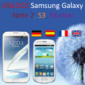 UNLOCK Samsung N 2,S3,S3 mini