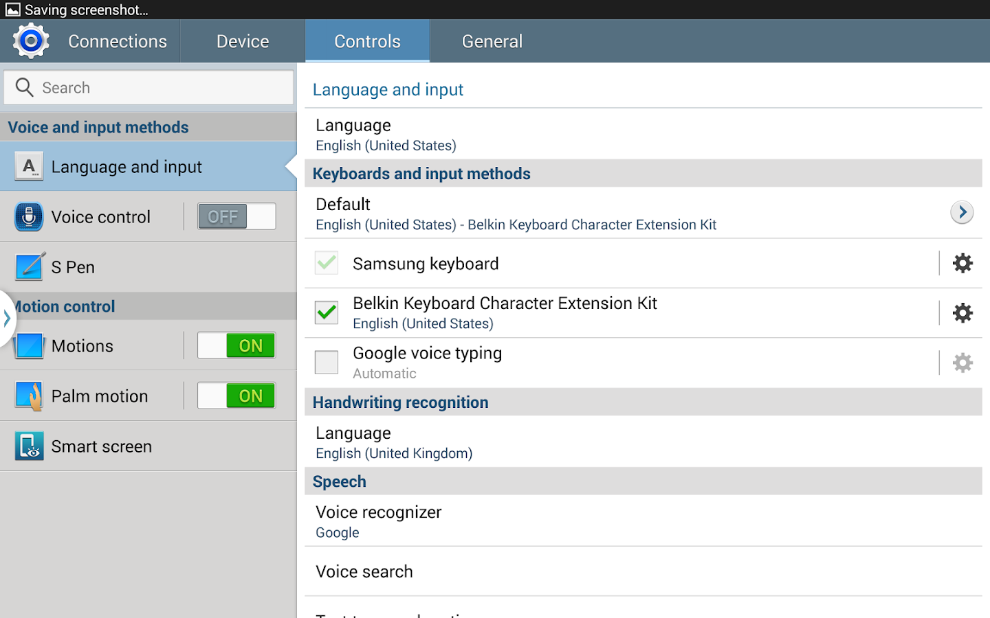 Belkin Keyboard Extension Kit- screenshot