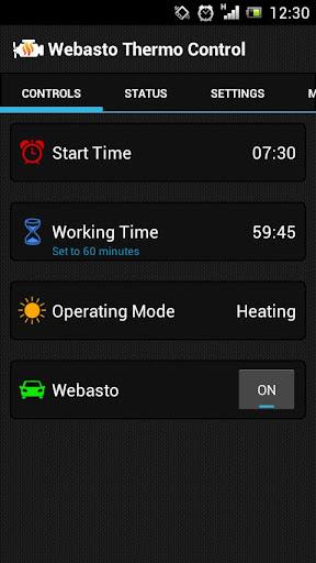 Webasto Thermo Control