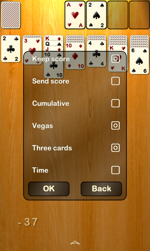 Solitaire (NoAds) - screenshot