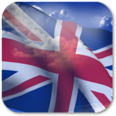 3D UK Flag Live Wallpaper +