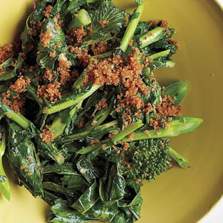 Broccoli Rabe with Anchovies and Breadcrumbs