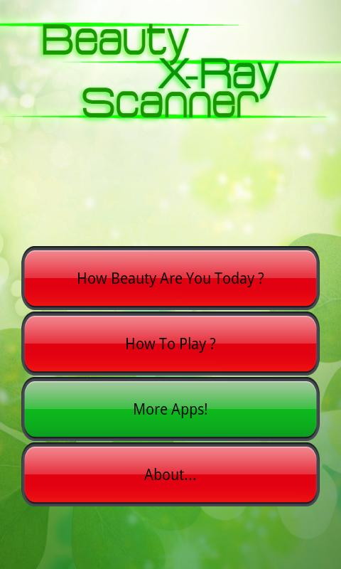 Beauty Scanner- screenshot