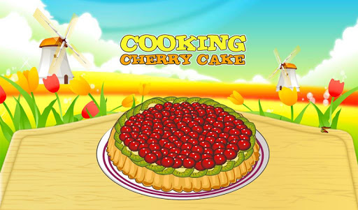 Cooking Cherry Cake