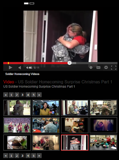 Soldier Homecoming Videos
