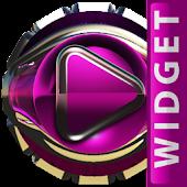 Poweramp Widget Pink Lounge