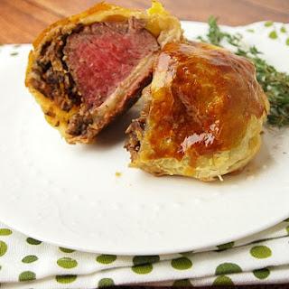 Kosher Beef Wellington.