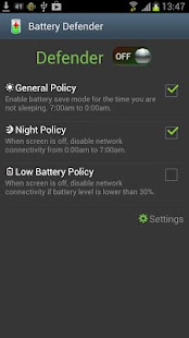 Battery Defender - Batterie Screenshot