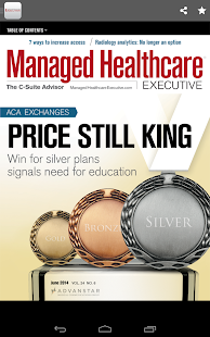 Managed Healthcare Executive- screenshot thumbnail