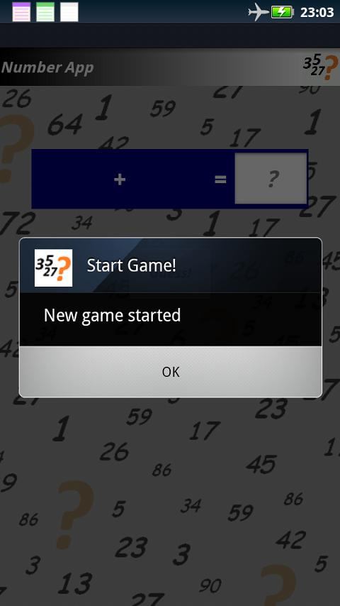 Number App - screenshot