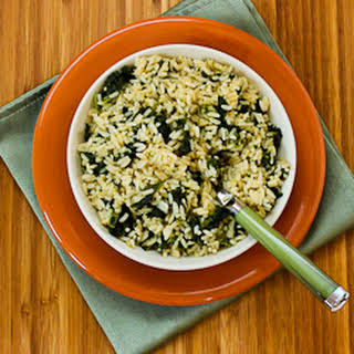 Creole-Spiced Rice and Kale.