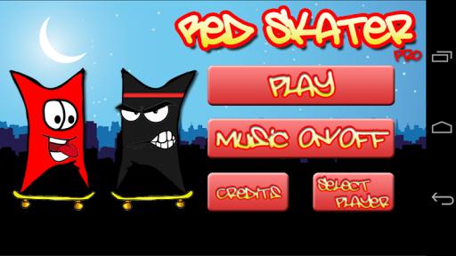 Red Skater Pro