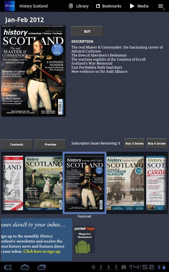 History Scotland - screenshot