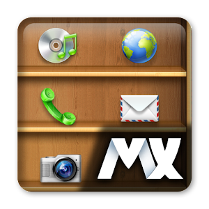 MXHome Theme Bookshelf