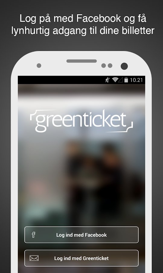 Greenticket- screenshot