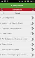 Screenshot of i4Codici