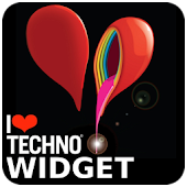 I Love Techno - Widget