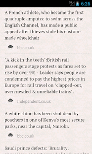 World News - screenshot thumbnail