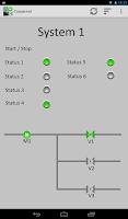 Screenshot of S7 PLC HMI Lite