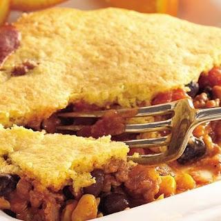 Salsa-Turkey Cornbread Casserole