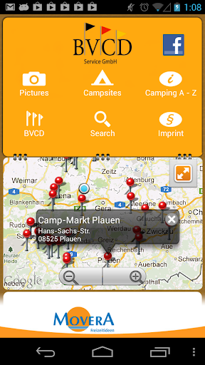 Campsites in Germany