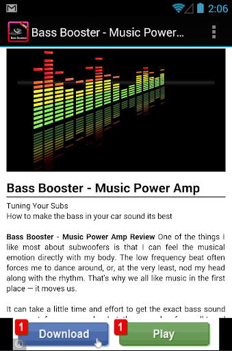 【免費娛樂App】Official Power Bass Booster-APP點子