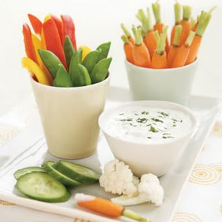 Ranch-Style Dip with Dippers.
