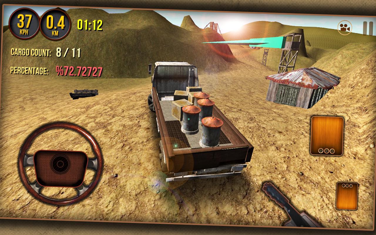 Cargo Truck Driver 3D 2014 - screenshot