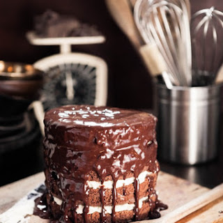 Chocolate Stout Oat Cake