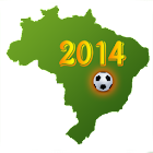 Football World Cup 2014 Brazil icon